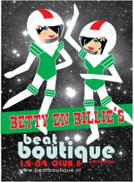 Betty & Billie in Space